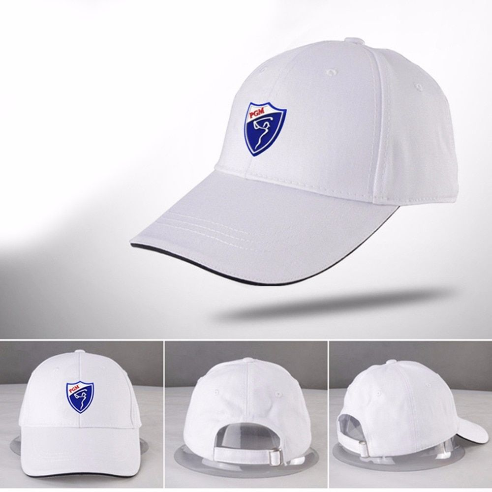 New PGM Golf Hat Golf Caps Cotton Golf Sunscreen Hat Comfortable Breathable Golf Hats Solid Color Sport Peaked Cap 6 Colors