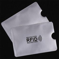 OWGYML 10 шт./компл. RFID экранированный наручный держатель для карт Блокировка 13,56 МГц IC карты защиты NFC безопасности карты предотвратить неавтор...