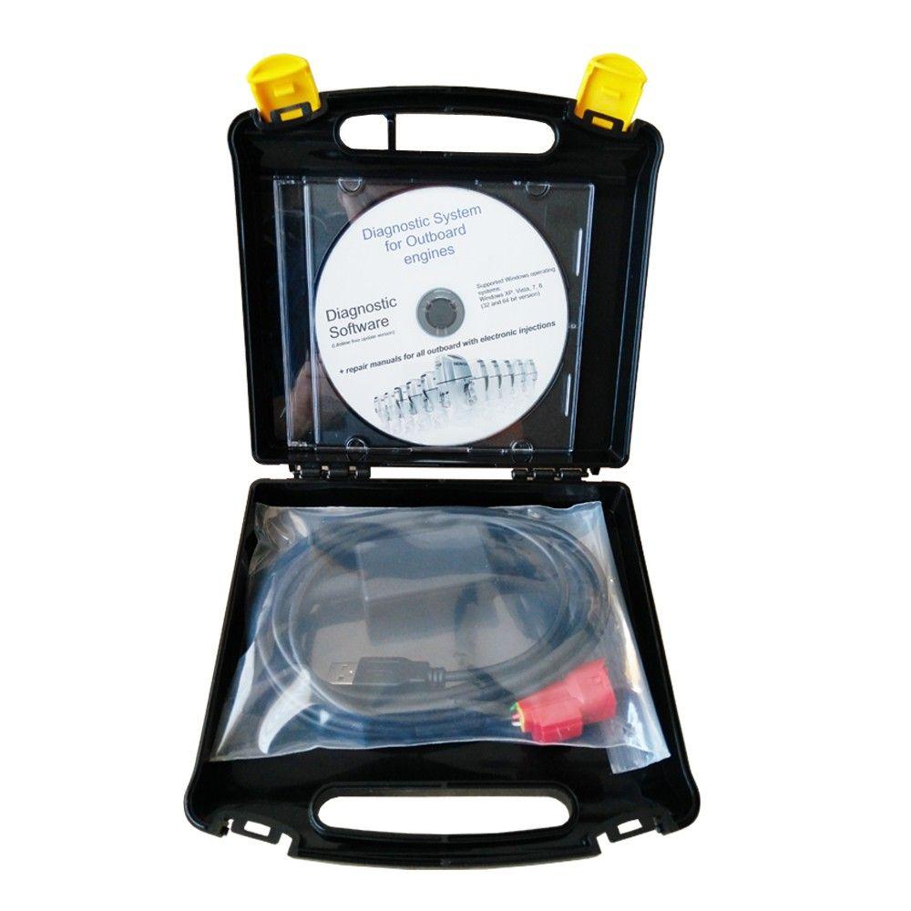 Für Marine-Diagnose-Kit (für Marine HDS), für Honda einspritzer außenbordmotoren, lebenslange KOSTENLOSE software-updates