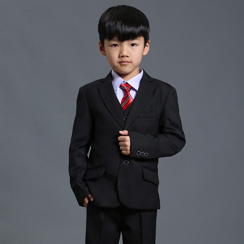 Nimble suit for boy black boys suits for weddings terno infantil costume enfant garcon mariage disfraz infantil boys suits