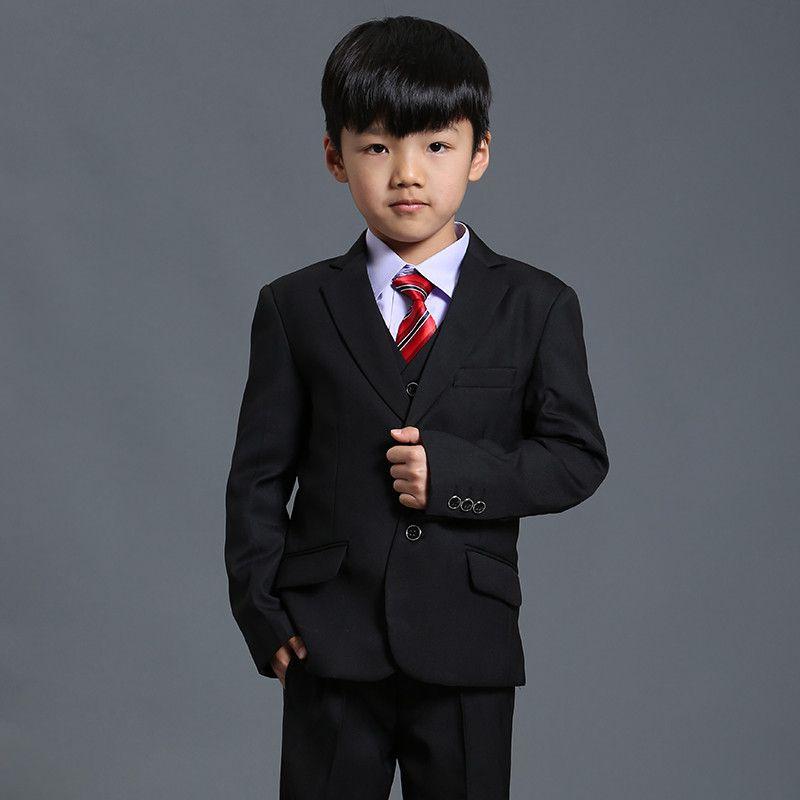 Nimble suit for boy black boys suits for weddings terno infantil costume enfant garcon mariage disfraz infantil boys suits