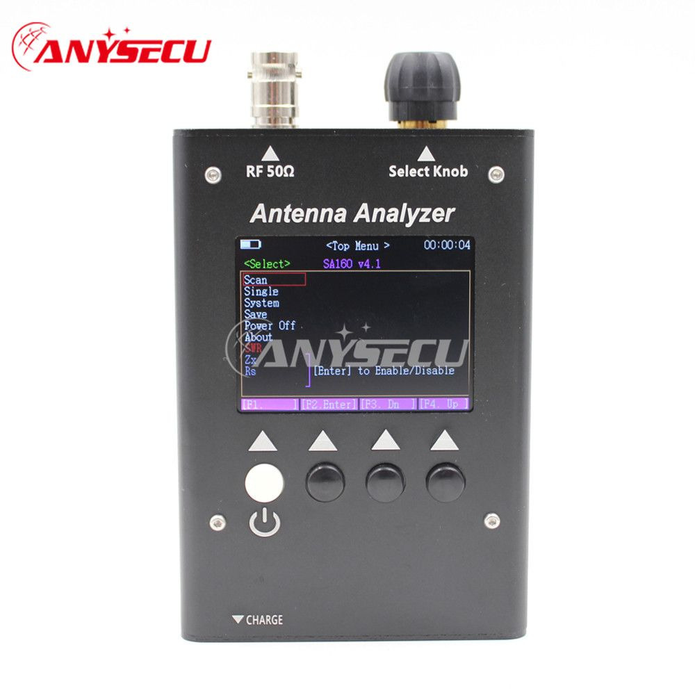 NEW SURECOM SA-160 0.5-60MHz Colour Graphic ANTENNA ANALYZER SA160 Analyzer analizador de antena