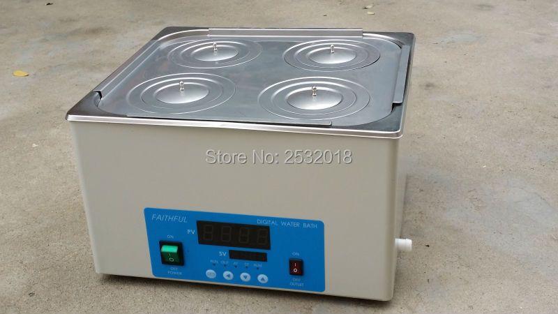 Labor Thermostat Wasser Bäder 4 loch Kann strecken die liner, freies Verschiffen!