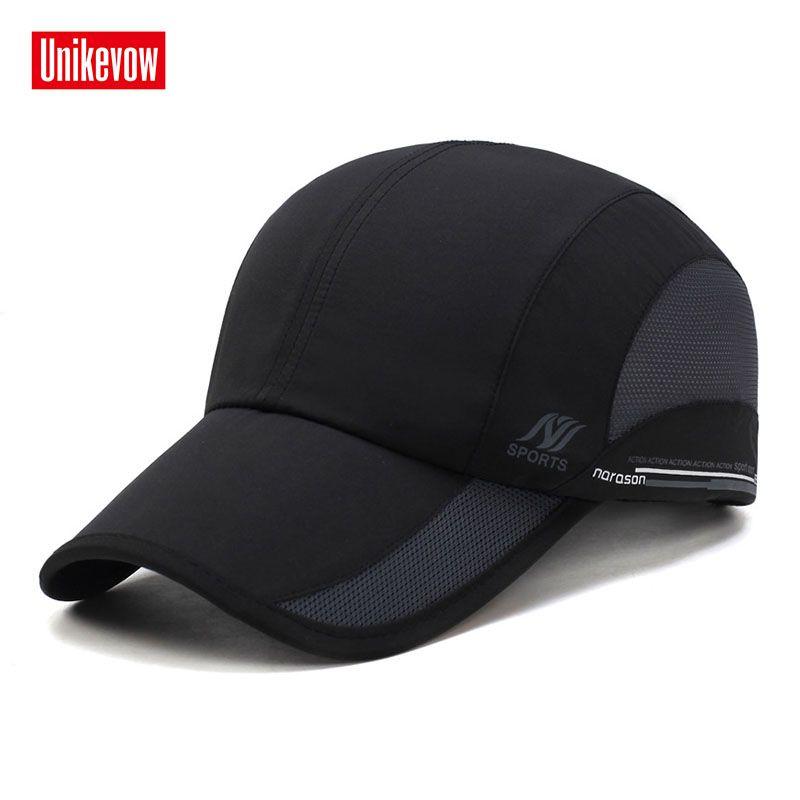 Unisexe séchage rapide casquettes de baseball pour hommes et femmes décontracté été chapeau maille casquette