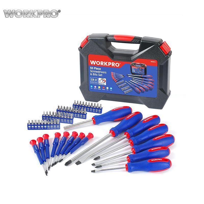Set von Tools schraubendreher WORKPRO W009013A Hand Tool Set