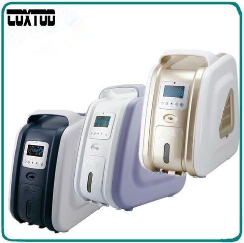 COXTOD Oxygen Concentrator 110/220V Mini Portable Oxygen Concentrator Generator 3L/min 93% Oxygen Purity Oxygen Bar