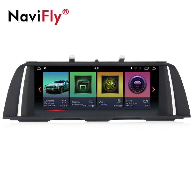 EU steuer freies! IPS reine android 2G + 32G quad core auto gps radio player für BMW 5 Series F10/F11 /520 (2011-2017) für CIC/NBT