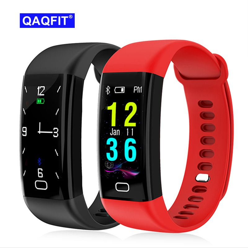 2018 NEW F07 Bluetooth Smart Band OLED Color screen Bracelet IP68 Waterproof Swim Heart Rate blood pressure monitor display