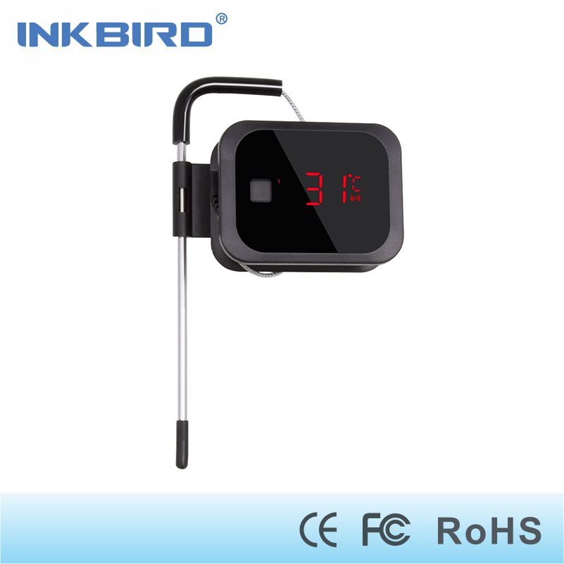 Inkbird IBT-2X digital bluetooth thermometer cooking for oven meat ,grilling,smoker,wireless kitchen food bbq with one sensor