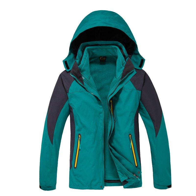Dropshipping 2018 new Top quality Men's thermal Jackets outdoors hiking Travel Mountain climbing leisure trekking jacket
