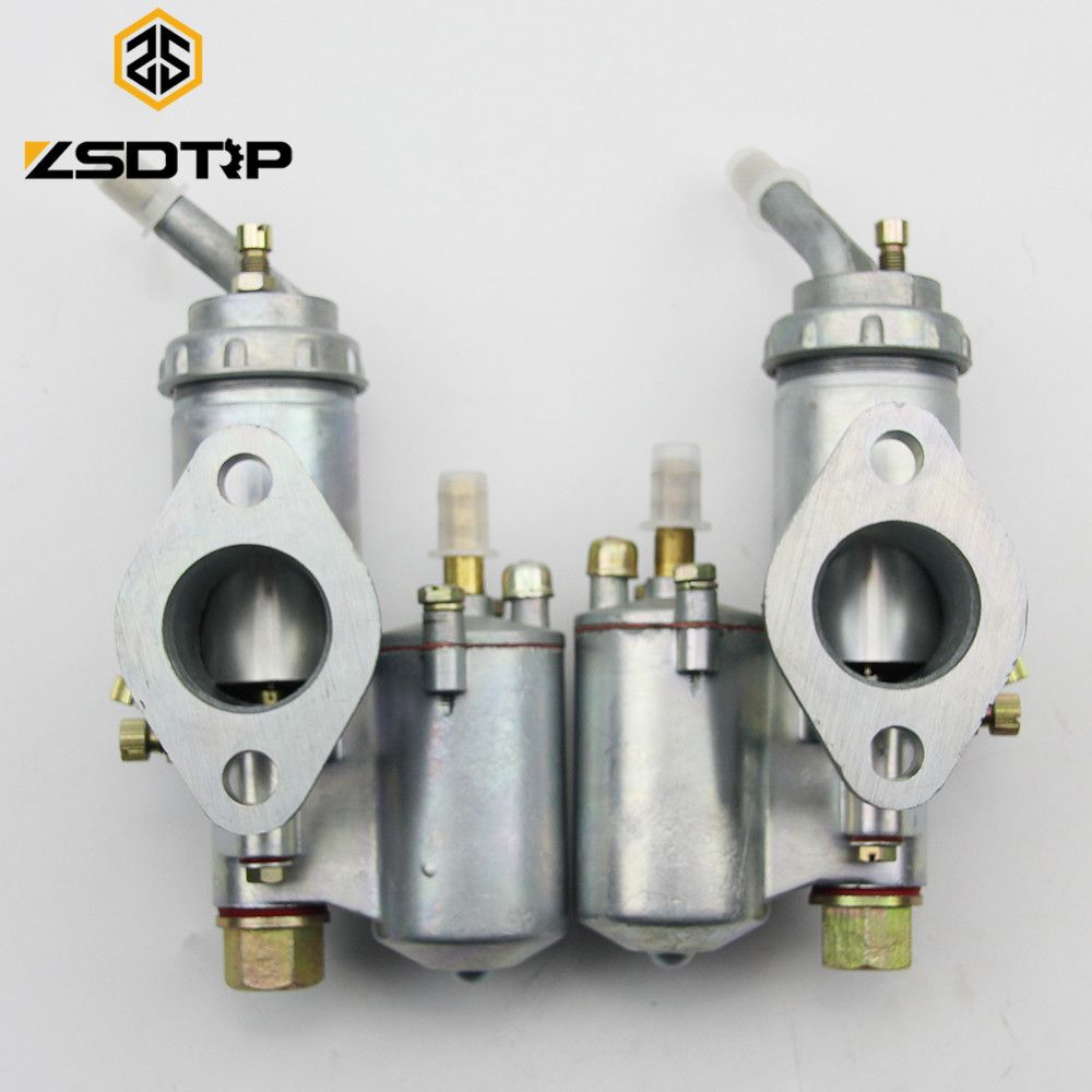 ZSDTRP Twin cyclinder KC750 motorcycle engine carburetor PZ28 carburator Case for BMW R50 R60 R12 KC750, R1,R71,M72, MW 750