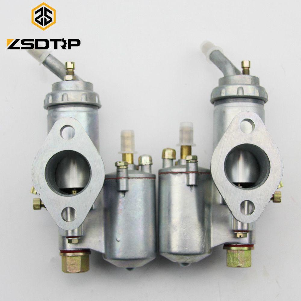 ZSDTRP Twin cyclinder KC750 motorcycle engine carburetor PZ28 carburator Case for BMW R50 R60 R12 KC750, R1,R71,M72, MW 750