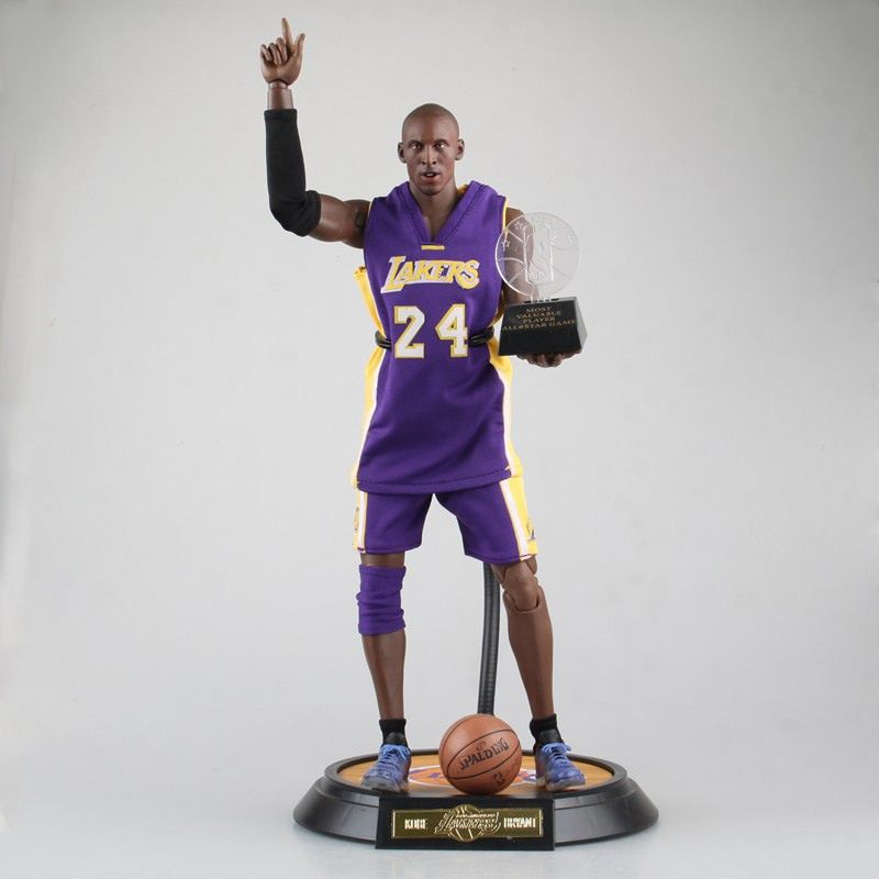 XINDUPLAN Kobe Bryant NBA Lakers 24 MVP ALL Star Game Action Figure Toys 1/6 34cm Large PVC Gift Collection Model 1047