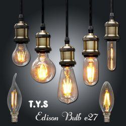 Ampoule Vintage LED Edison Ampoule E27 E14 220 V LED Rétro lampe 2 w 4 w 6 w DIY LED Filament Lumière Edison Pendentif Lampes Bombillas