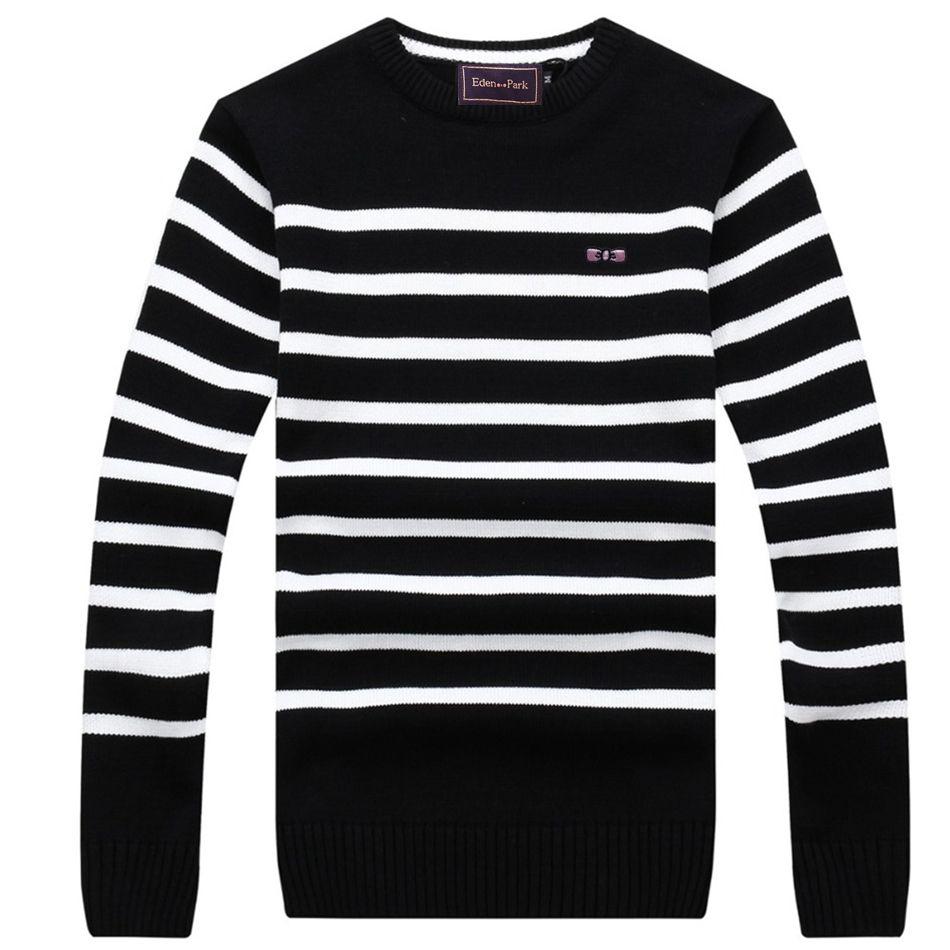 Eden Park мужские свитера пуловер для весна зима Коллекция высокого качества брендовая одежда с отдыха хлопчатобумажная ткань 720