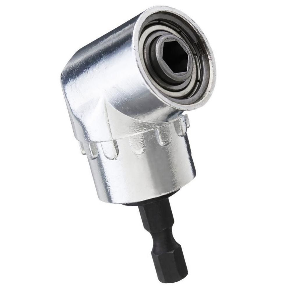 Turning head screwdriver 105 degrees 1/4 Extension Hex Drill Bit Adjustable Hex Angle Driver Socket Holder Adaptor tools