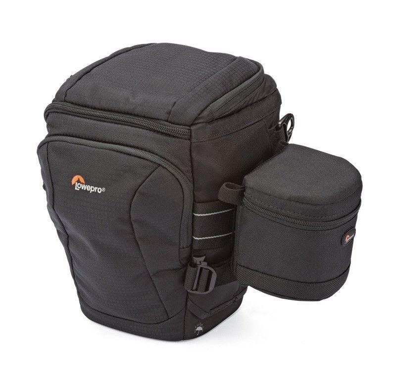 Lowepro Toploader Pro 70 AW II DSLR Camera Triangle Shoulder Bag Rain Cover Portable Waist Case Holster with 9*9cm lens bag