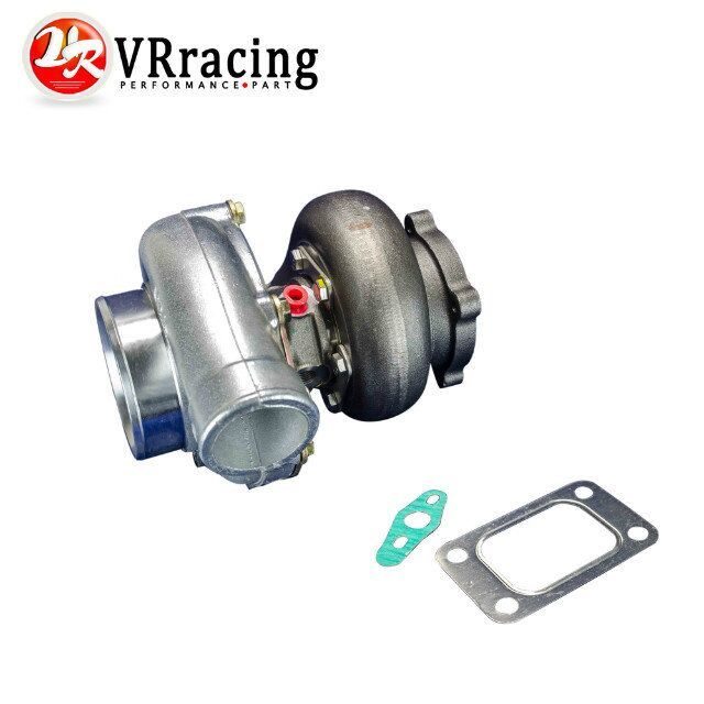 VR - GT3582 GT35 GT3582R T3 flange oil and water 4 bolt turbocharger turbo compressor A/R .70 Turbine A/R .82 VR-TURBO32-82