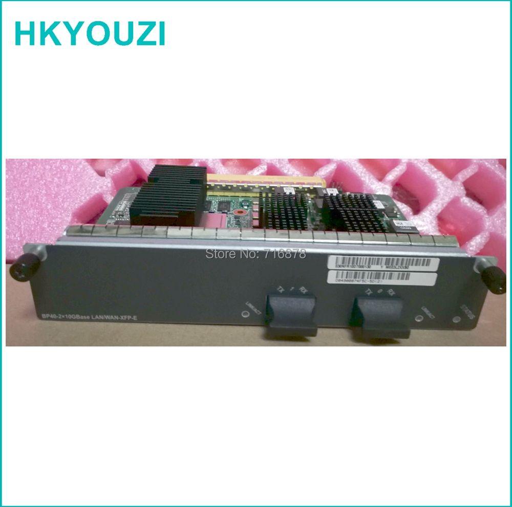 BP40-E, 2-Port 10 GBase LAN/WAN-XFP Flexible Karte E (BP40-E) karten verwenden für mater karte BSUF-40