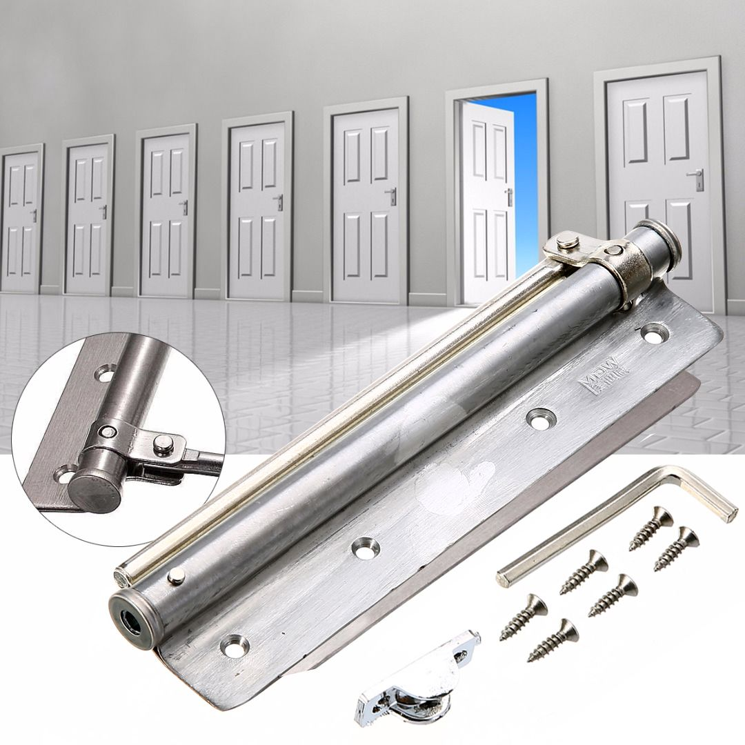 2017 Changeable Surface Mounted Auto Closing Door Closer Fire Rated Stainless Door Hardware Mayitr