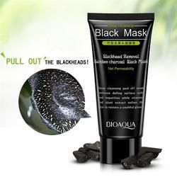 Blackhead Removal  Bamboo charcoal Black Mask Deep Cleansing Peel Off Mask Pores Shrinking Acne Treatment Oil-control