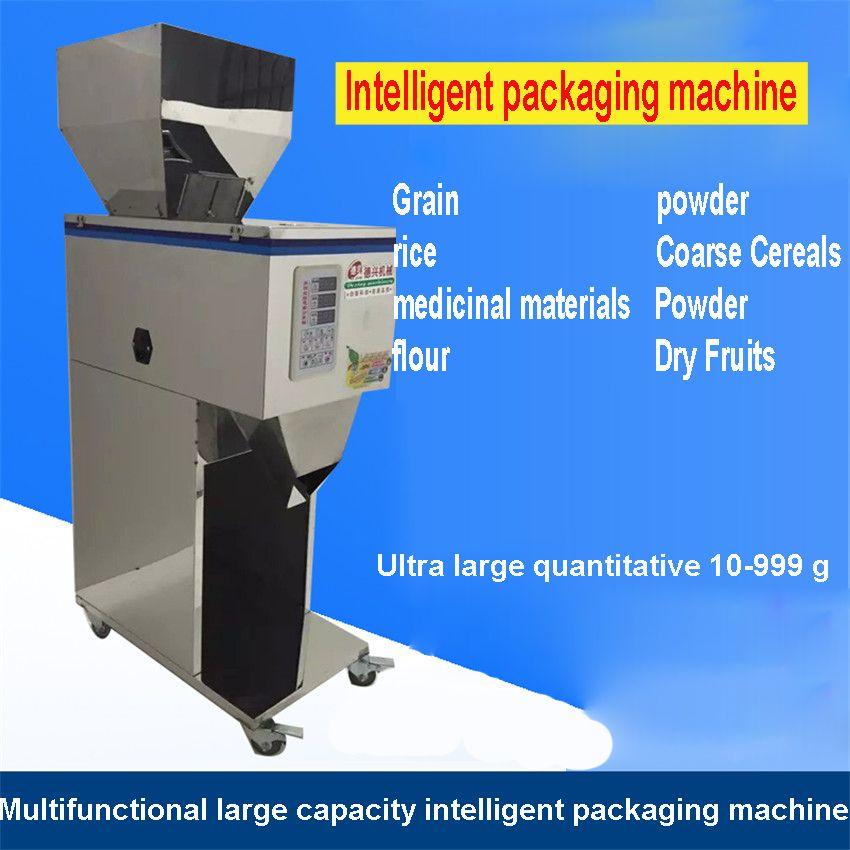 1 PC 10-999g Groß Angelegte von quantitative maschinen, automatische pulver füllung maschine, Medizin, lebensmittel füll maschine