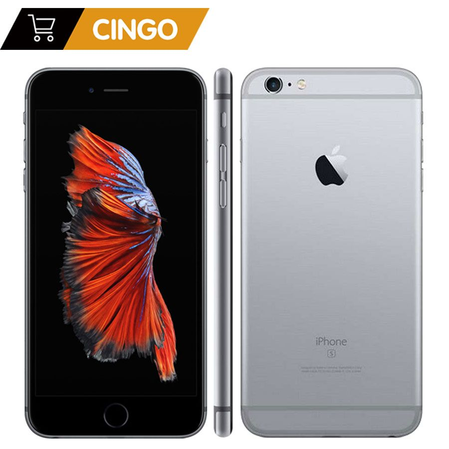 Unlocked Apple iPhone 6s Plus/iPhone 6s 2GB RAM 16/64/<font><b>128GB</b></font> ROM Cell Phone IOS A9 Dual Core 12MP Camera IPS LTE Smart Phone