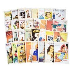 32 Pcs/pack Vintage Vieux mémoire Carte Postale De Mode Cadeau De Noël Carte Postale D'anniversaire Belle Carte De Voeux Cartes De Voeux