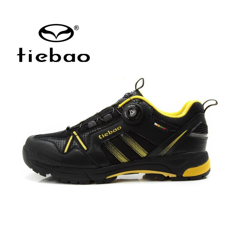 Tiebao MTB Cycling Shoes Mountain Bicycle Shoes Self-lock Bike Shoes Anti-slip Leisure Athlitic Shoes zapatillas ciclismo