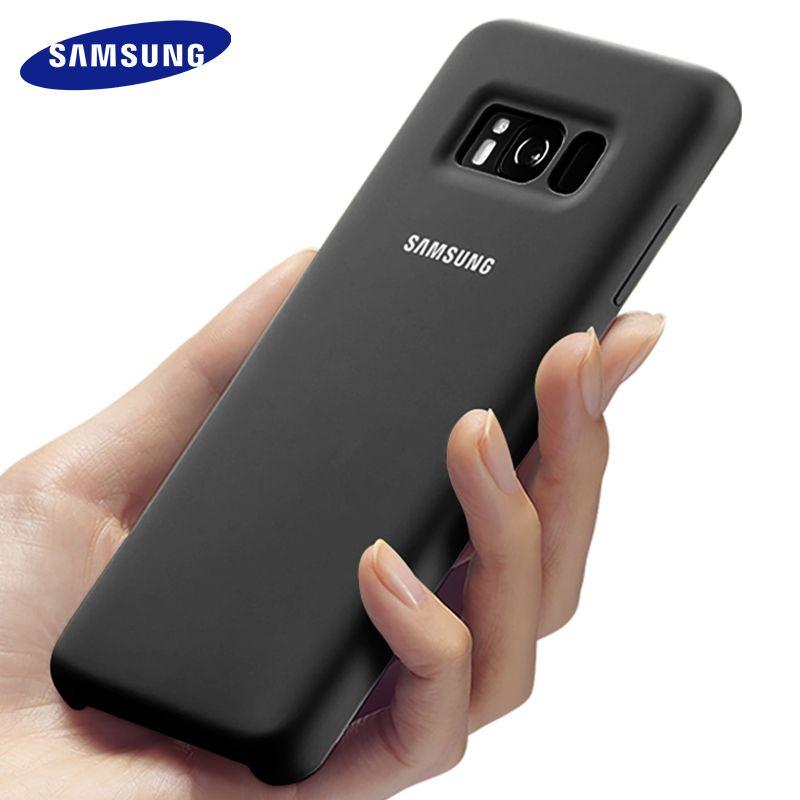 Samsung S8 case silicone back cover galaxy S8 plus hard phone case Full protective S 8 plus luxury S8plus 100% original G9500