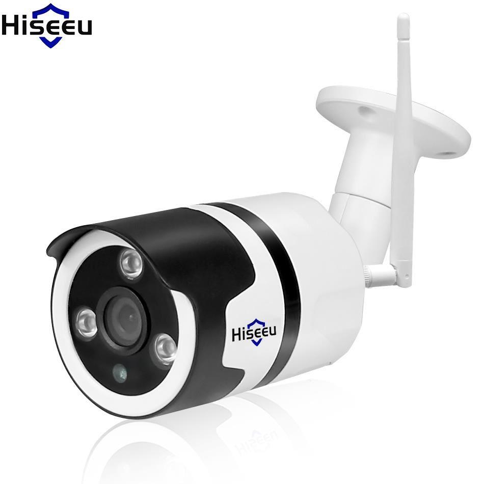 Hiseeu HD 720P 1080P IP Camera Wireless Wifi Bullet Camara Outdoor Waterproof Night Vision IR Cut Memory Home Security
