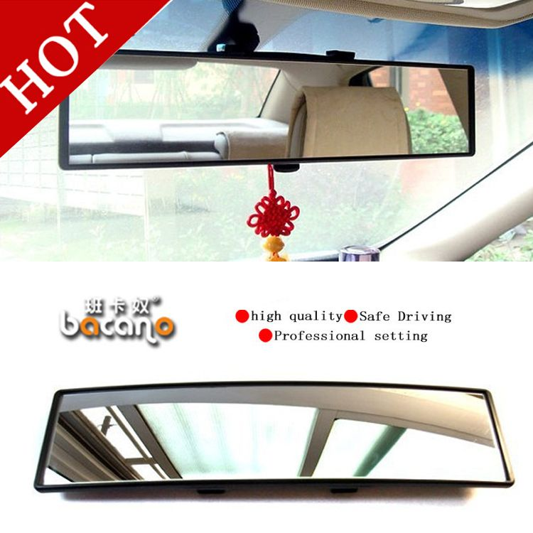BACANO Vision Car Glare Proof Mirror outlook interior car wide angle rearview mirror surface endoscope car-covers Cars mirror