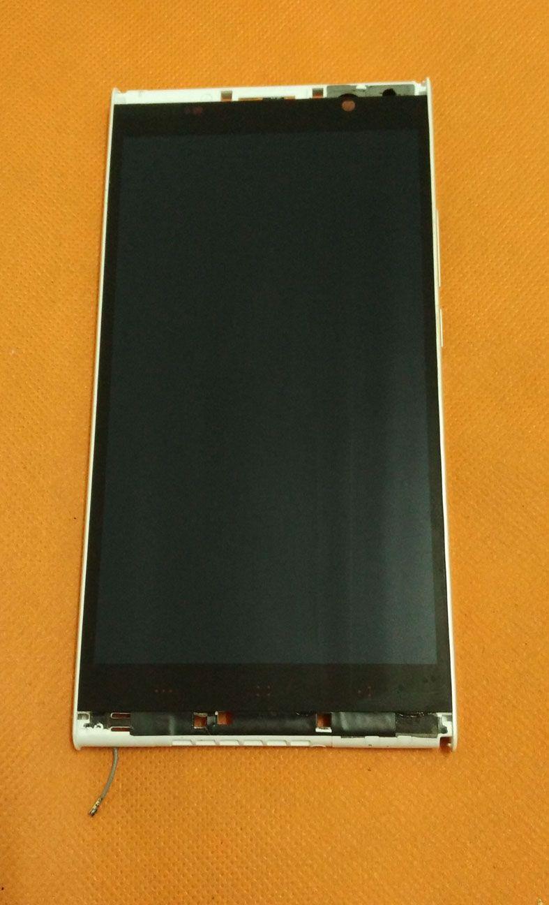 Écran LCD d'origine + Écran Tactile + Cadre pour Kingzone K1 Turbo MTK6592 5.5