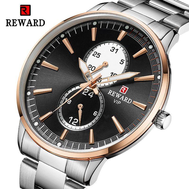 Mode Herren Uhren Top Brand Luxus Quarzuhr Männer Casual Solide Stahl Wasserdichte Sport Uhr 24 Stunden Relogio Masculino