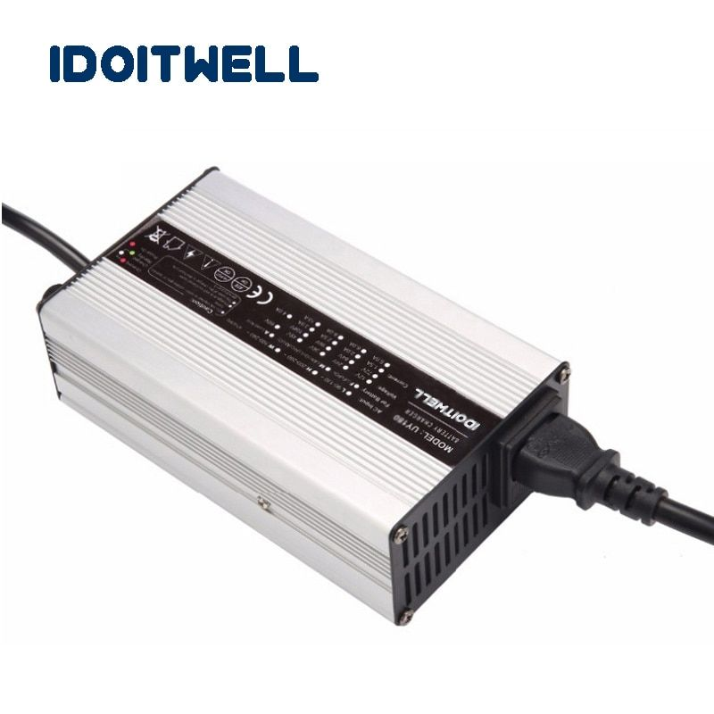 Customized 600W series 12V 25A 24V 20A 36V 12A 48V 10A battery charger for VRLA SLA AGM GEL Lead acid Lithium or LifePO4 battery