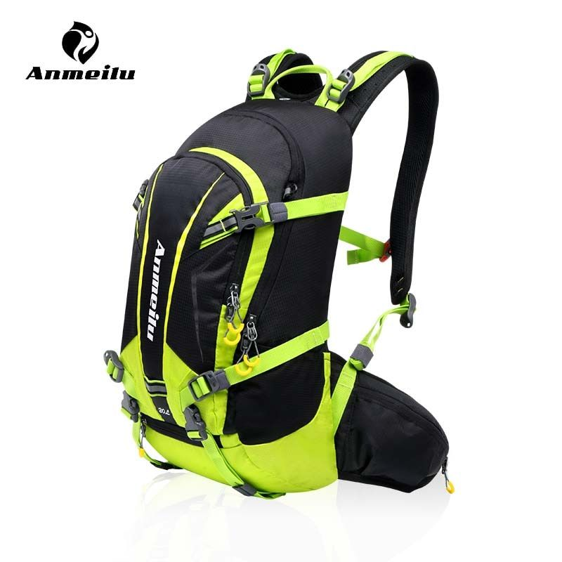 Anmeilu 20L Bicycle Shoulders Bag Large Capacity Outdoor Hiking Climbing Cycling Backpack Camping Downhill Mountain Bike Bag
