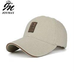 Joymay Topi Kualitas Tinggi Bisbol Tutup Bertali Belakang Topi Tutup Dilengkapi Topi untuk Pria dan Wanita B253