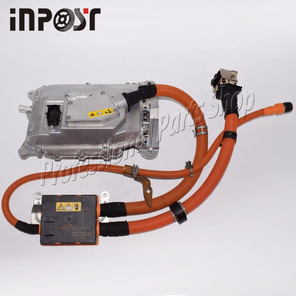 Für Mecedes W221 S400 S-Klasse Hybrid Batterie Ladegerät Inverter Konverter Montage 2215404450, 0045459701, 0009064703