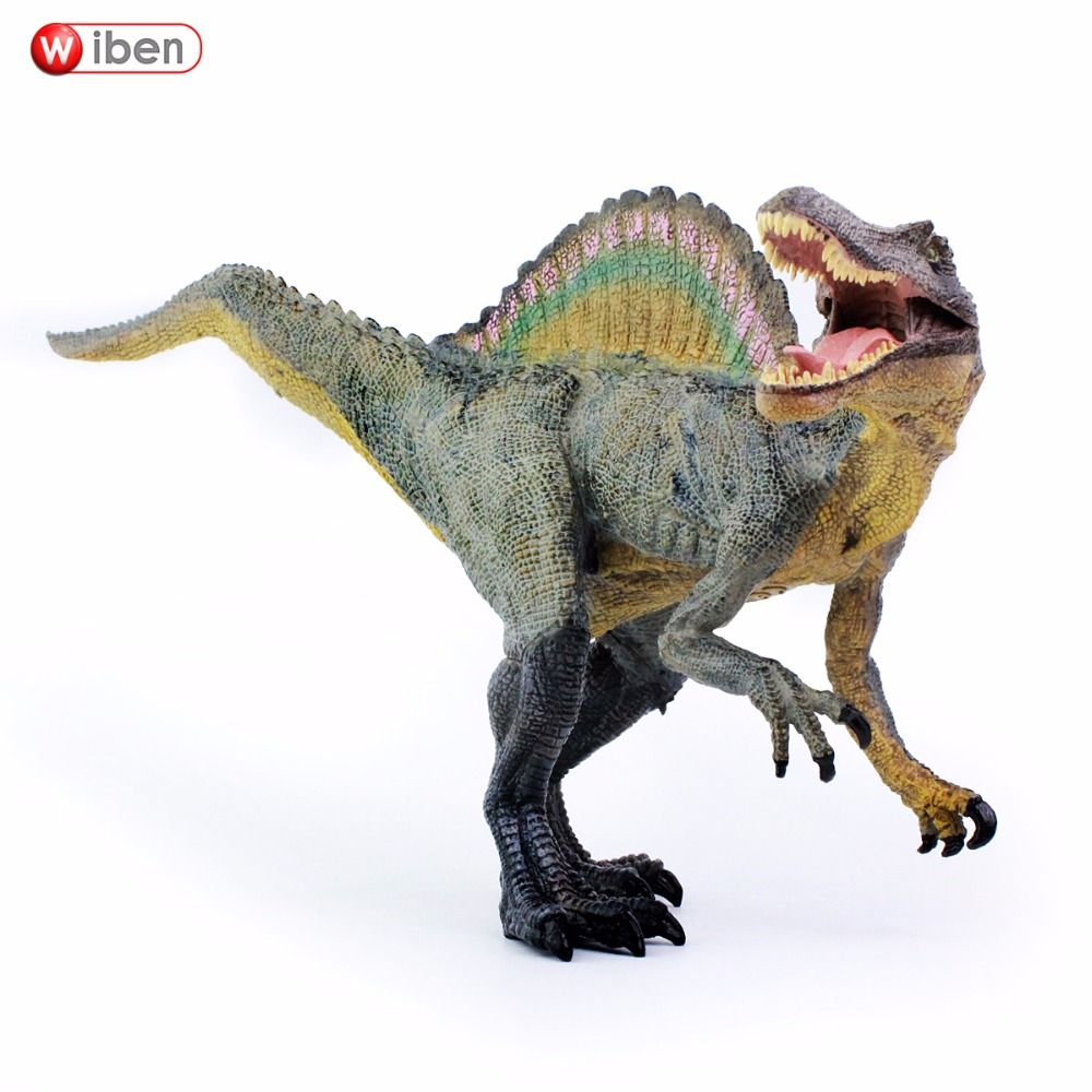Wiben Jurassic Spinosaurus Dinosaur Toys <font><b>Action</b></font> Figure Animal Model Collection Learning & Educational Children Toy Gifts