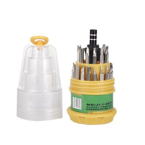 EWS!31 In 1 Schraubendreher Set Handy Reparatur Kit Handliches Werkzeug