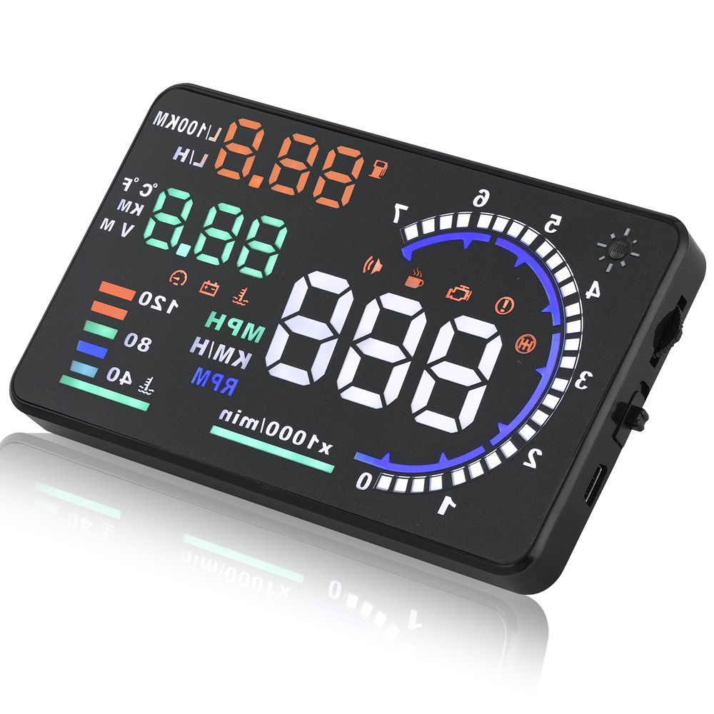 Car styling Universal Car hud head up display A8 5.5