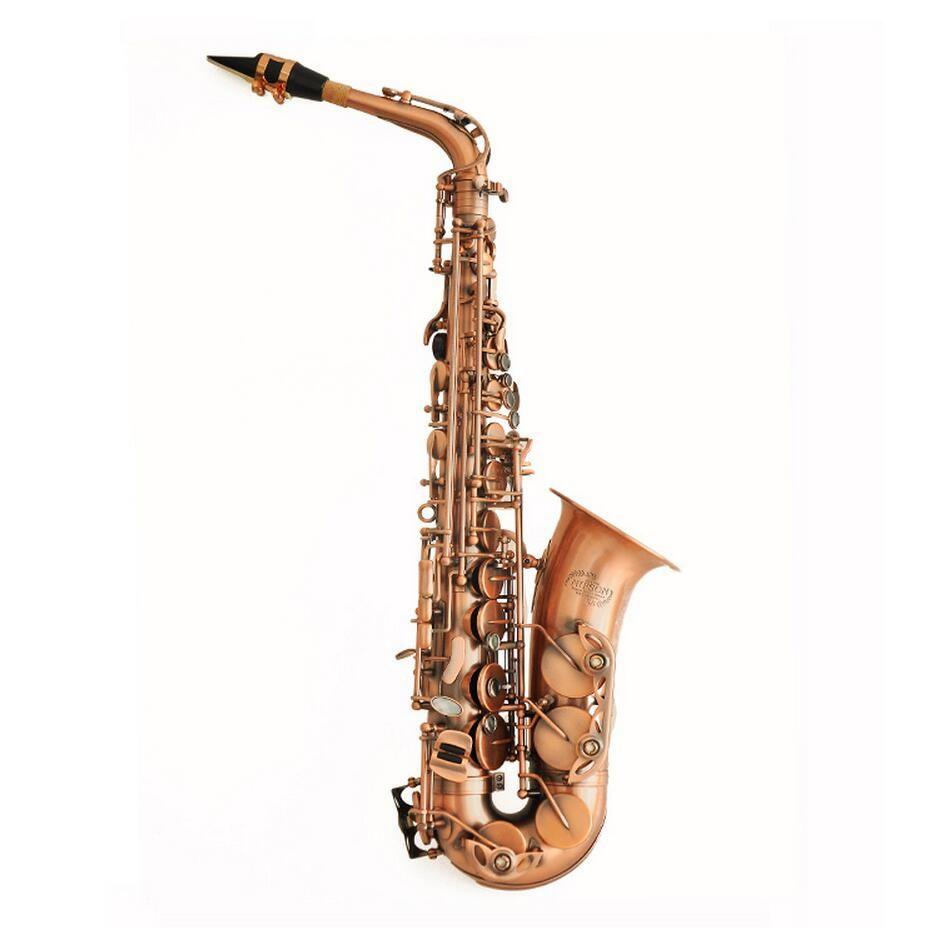 New 2016 Alto Saxophone Eb Sax E Flat Antique Copper Simulation Professional Musical Brass Instruments NAS-630B