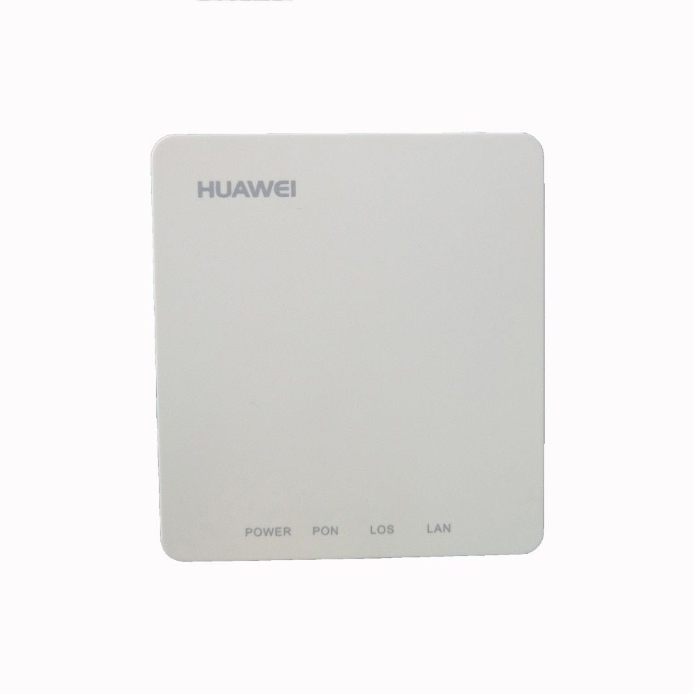Freies Verschiffen 20 stücke 90% neue verwendet Huawei HG8010 EPON ONU ftth faser verwendet GPON 1GE Ont ohne boxen und power Kostenloser Versand