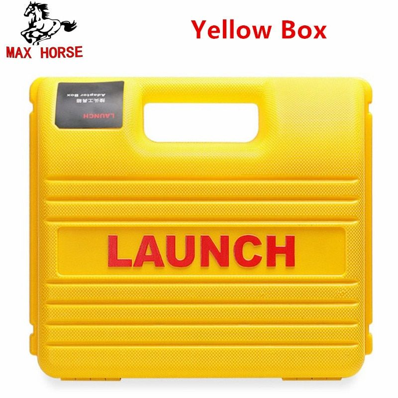 New Launch X431 Easydiag Mdiag Connector full Set Package LAUNCH X431 yellow box X431 Idiag adapter Free Shipping