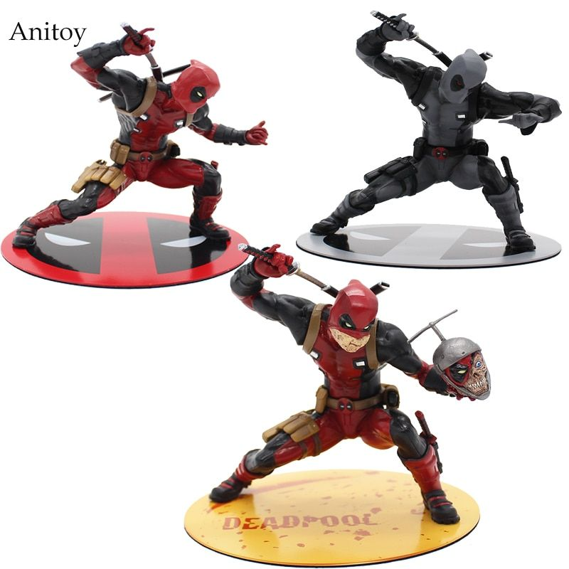 Super Hero X-Men Deadpool PVC Action Figure Collectible Model Toy 13cm KT2398