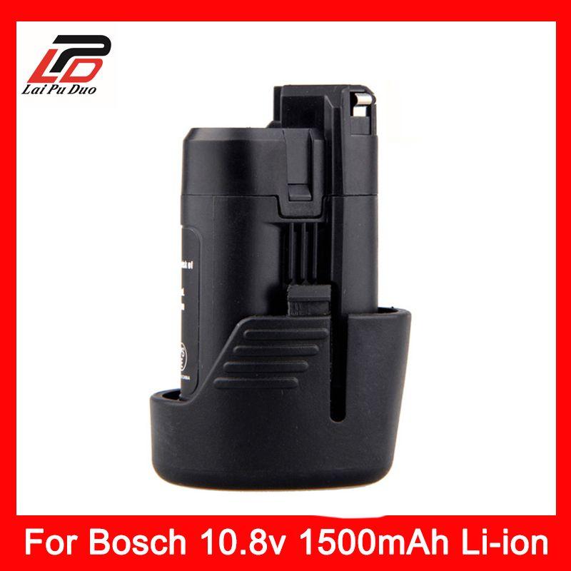 10.8 v 1.5Ah batterie Li-ion De Remplacement Pour Bosch 1500 mah 2 607 336 013 2 607 336 014 BAT411 D-70745 GOP 10.8 v PS20-2 PS40-2