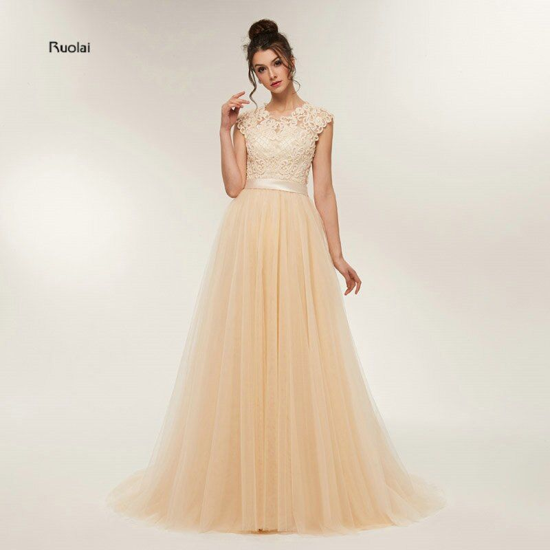 New Arrival Stunning Prom Dresses Long 2018 Party Dresses Long Lace Appliques Beaded Evening Dresses Prom Party Dresses Long
