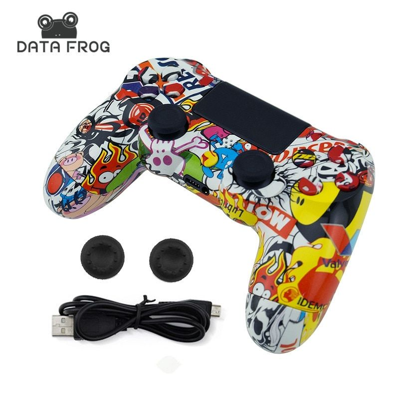 For Sony PS4 Wireless Bluetooth Gamepads Custom Bomb Game Controller For Playstation 4 Dualshock 4 Joystick Gamepads