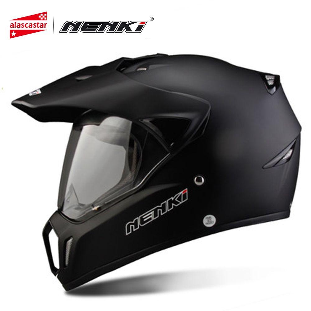 NENKI casque de Moto casque de course casque de Cross Capacetes casque de Moto Moto adulte tout terrain casque de Moto 310