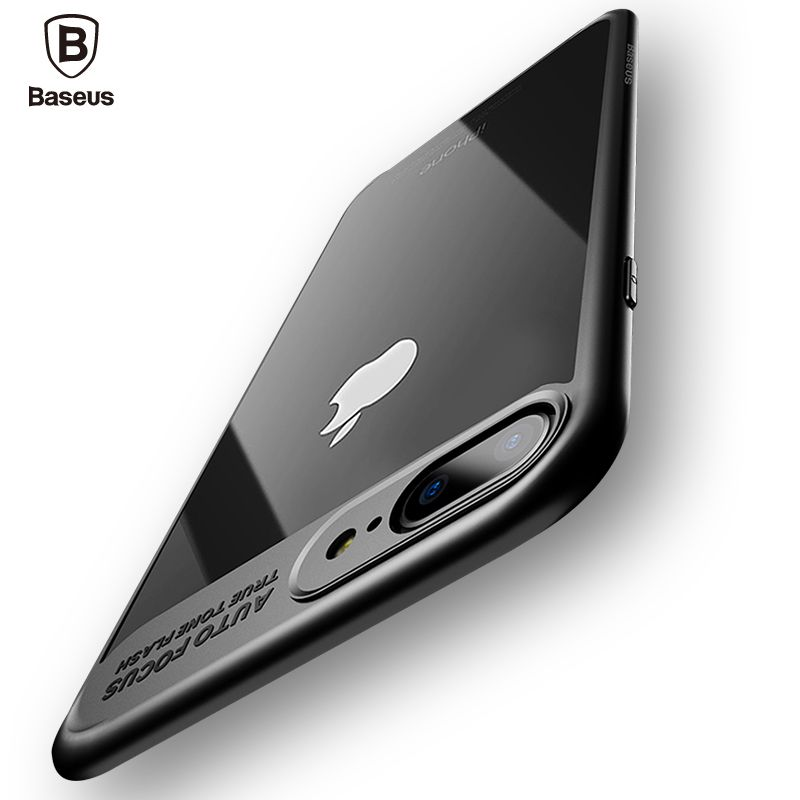 Baseus Luxury Case For iPhone 8 7 6 6s Ultra Thin Capinhas PC & TPU Silicone Cover Case For iPhone 8 7 6 s 6s Plus Coque Fundas